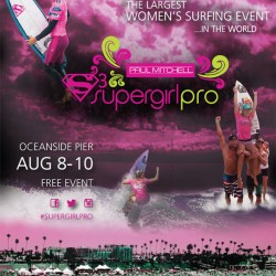 2014 Supergirl Pro Event Poster